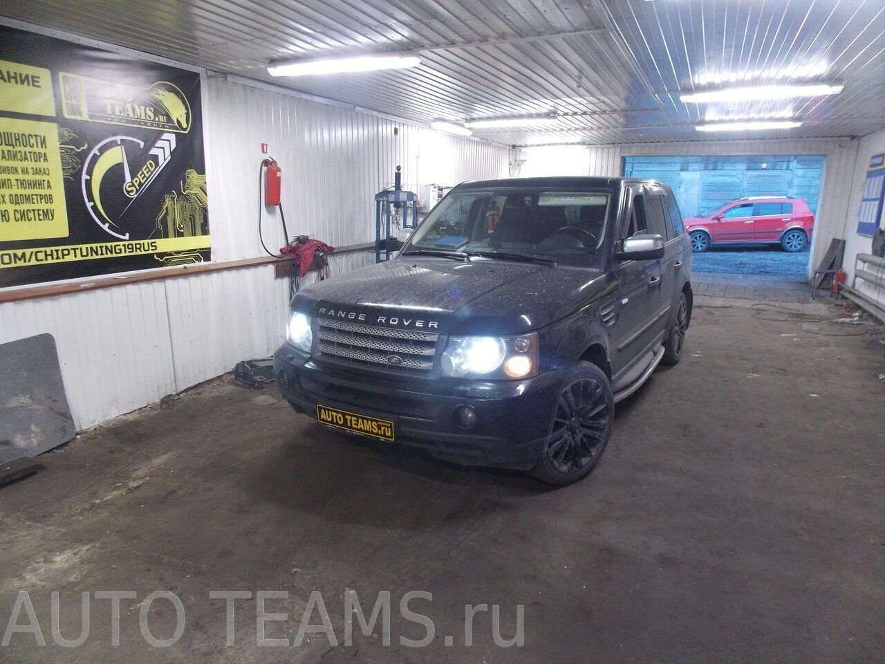 Range Rover 2008г 4.2L V8 Supercharged 390Hp